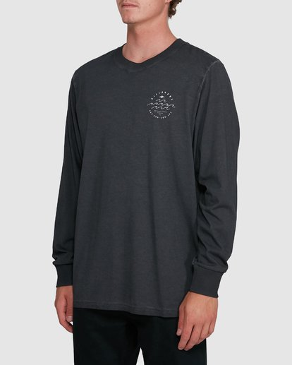 1 Big Wave Dave Long Sleeve Black 9503174 Billabong
