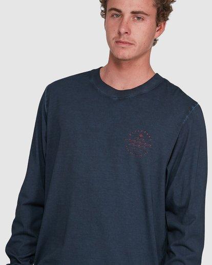 3 Big Wave Dave Long Sleeve Blue 9503174 Billabong