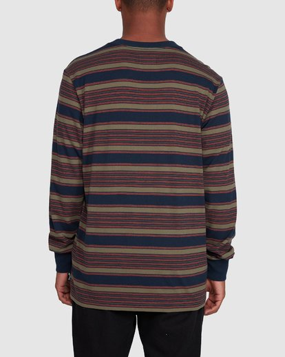 3 Mix Up Stripe Long Sleeve Blue 9503175 Billabong