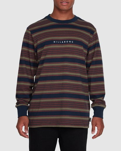 0 Mix Up Stripe Long Sleeve Blue 9503175 Billabong