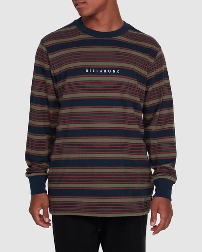 1 Mix Up Stripe Long Sleeve Blue 9503175 Billabong
