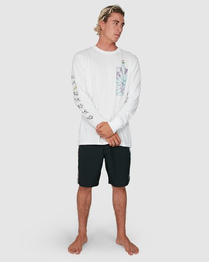 5 Dr. Seuss Great Places Long Sleeve Tee White 9503182 Billabong
