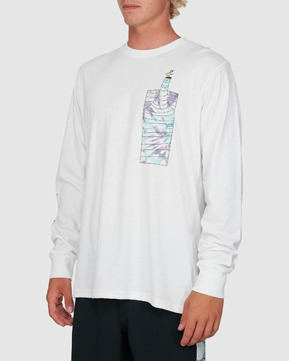 1 Dr. Seuss Great Places Long Sleeve Tee White 9503182 Billabong