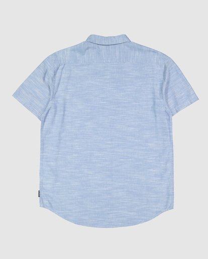 6 All Day Short Sleeve Shirt Blue 9503200 Billabong