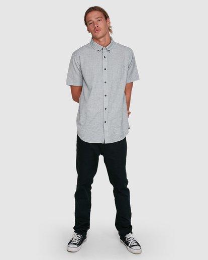 6 All Day Short Sleeve Shirt Grey 9503200 Billabong