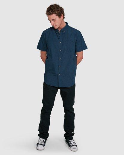 5 All Day Short Sleeve Shirt Blue 9503200 Billabong