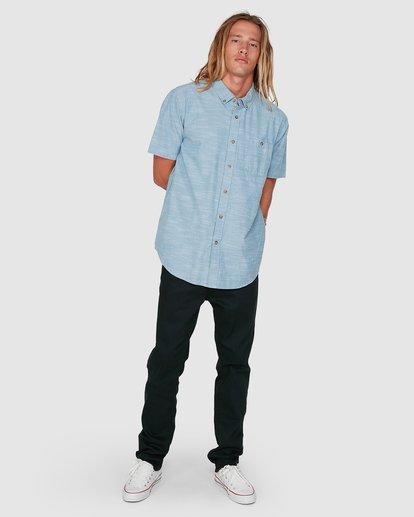 7 All Day Short Sleeve Shirt Blue 9503200 Billabong