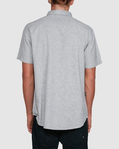 3 All Day Short Sleeve Shirt Grey 9503200 Billabong