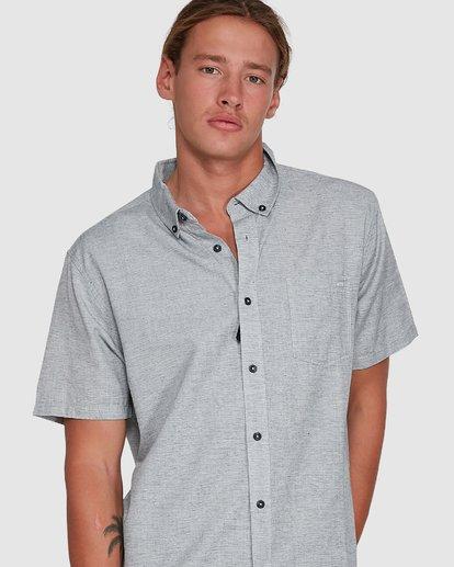 4 All Day Short Sleeve Shirt Grey 9503200 Billabong