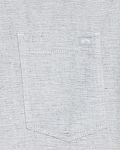 5 All Day Short Sleeve Shirt Grey 9503200 Billabong