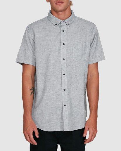 0 All Day Short Sleeve Shirt Grey 9503200 Billabong