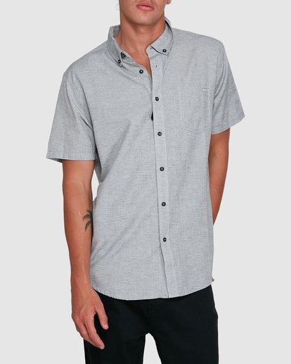 1 All Day Short Sleeve Shirt Grey 9503200 Billabong