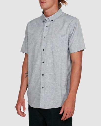 2 All Day Short Sleeve Shirt Grey 9503200 Billabong