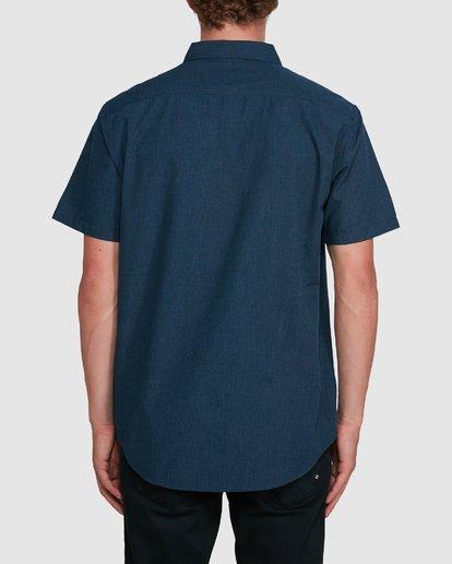2 All Day Short Sleeve Shirt Blue 9503200 Billabong