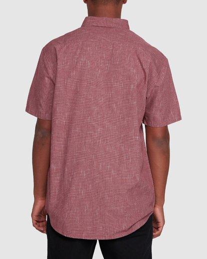 3 All Day Short Sleeve Shirt Red 9503200 Billabong