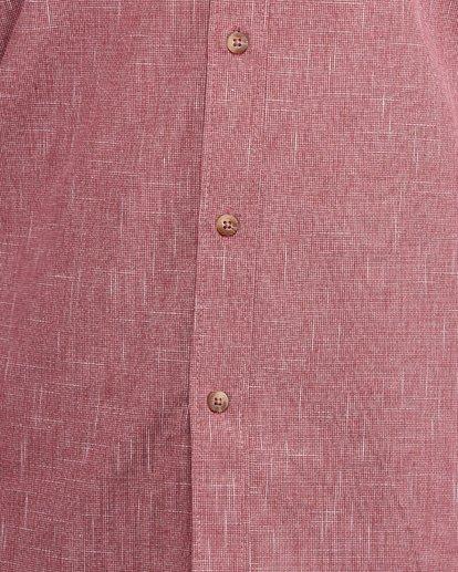5 All Day Short Sleeve Shirt Red 9503200 Billabong