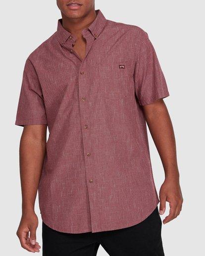 1 All Day Short Sleeve Shirt Red 9503200 Billabong
