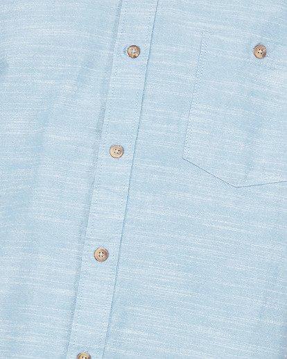 4 All Day Short Sleeve Shirt Blue 9503200 Billabong