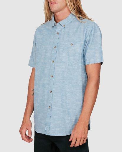 1 All Day Short Sleeve Shirt Blue 9503200 Billabong