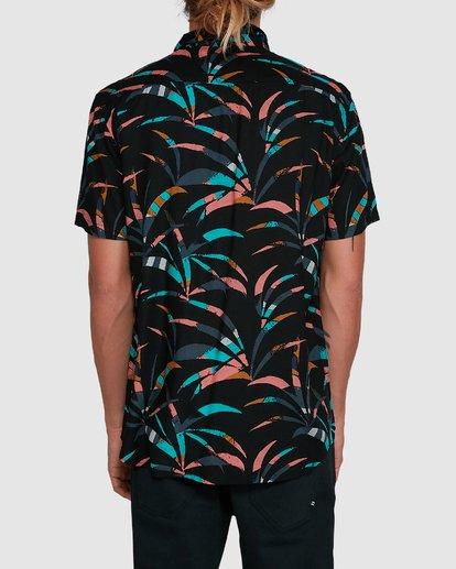 3 Sundays Floral Short Sleeve Shirt Black 9503202 Billabong