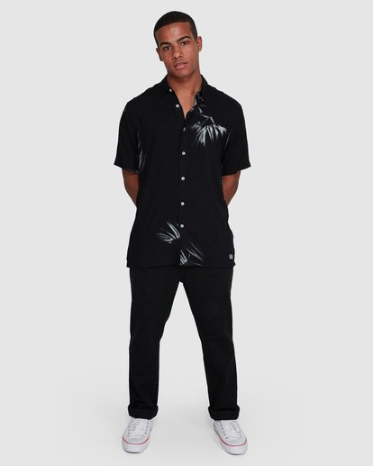 6 Sundays Tribes Short Sleeve Shirt Black 9503207 Billabong