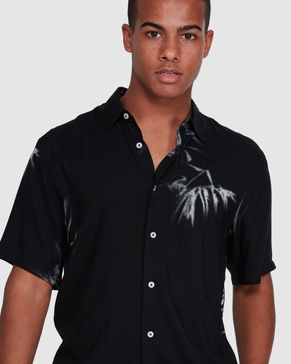 4 Sundays Tribes Short Sleeve Shirt Black 9503207 Billabong