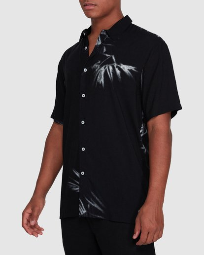 2 Sundays Tribes Short Sleeve Shirt Black 9503207 Billabong