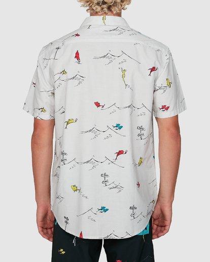 2 Dr. Seuss One Fish Two Fish Shirt White 9503280 Billabong