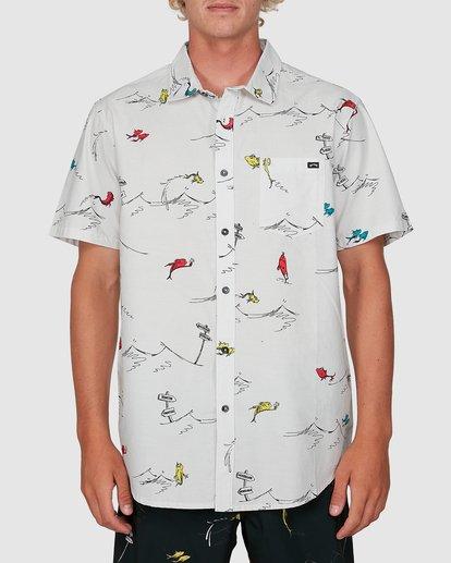 0 Dr. Seuss One Fish Two Fish Shirt White 9503280 Billabong