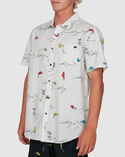 1 Dr. Seuss One Fish Two Fish Shirt White 9503280 Billabong