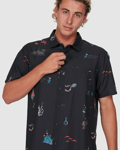3 Dr. Seuss Oh The Places Shirt Black 9503281 Billabong