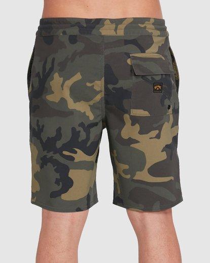 4 All Day LT Boardshorts Camo 9503423 Billabong