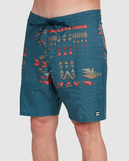 3 Sundays Split LT Boardshorts Blue 9503427 Billabong