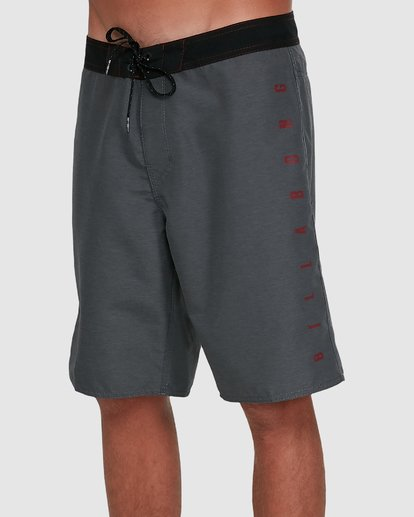 3 Shadow Cut Original Boardshorts Grey 9503428 Billabong