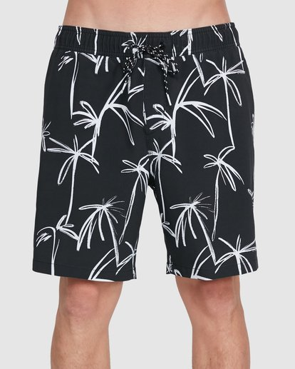2 Sundays Layback Boardshorts Black 9503430 Billabong