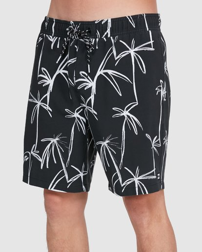 3 Sundays Layback Boardshorts Black 9503430 Billabong