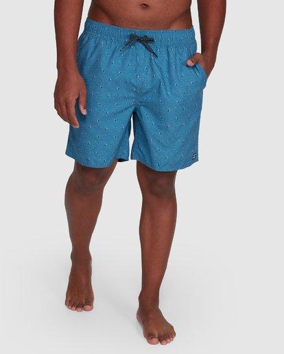 11 All Day Mini Mark Layback Boardshorts Blue 9503433 Billabong