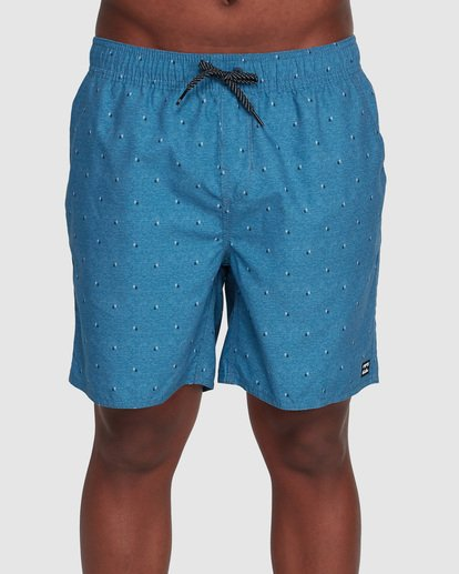 2 All Day Mini Mark Layback Boardshorts Blue 9503433 Billabong