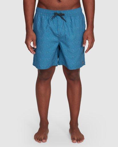 8 All Day Mini Mark Layback Boardshorts Blue 9503433 Billabong