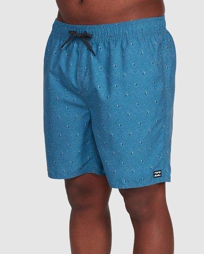 3 All Day Mini Mark Layback Boardshorts Blue 9503433 Billabong