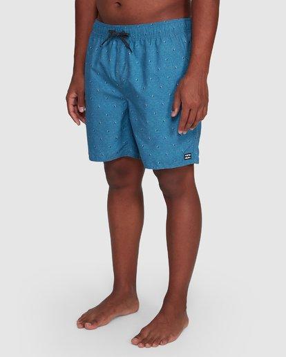 9 All Day Mini Mark Layback Boardshorts Blue 9503433 Billabong