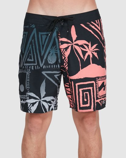 2 Sundays Interchange OG Boardshorts Black 9503434 Billabong