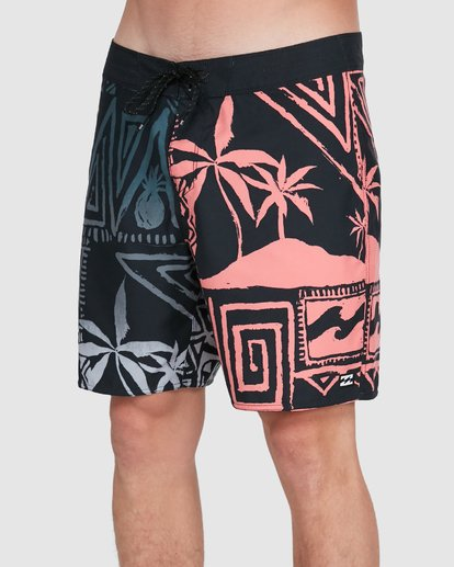 3 Sundays Interchange OG Boardshorts Black 9503434 Billabong