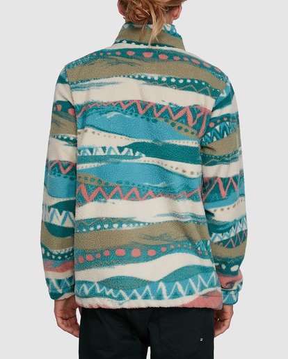 3 Boundary Mock Neck Beige 9503604 Billabong