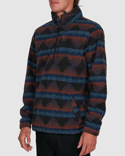 2 Boundary Mock Neck Blue 9503604 Billabong