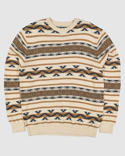 5 Alamo Sweater Crew Sweater Beige 9503611 Billabong