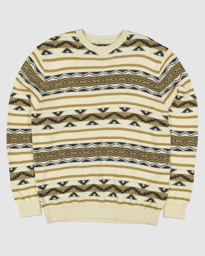 7 Alamo Sweater Crew Sweater Beige 9503611 Billabong