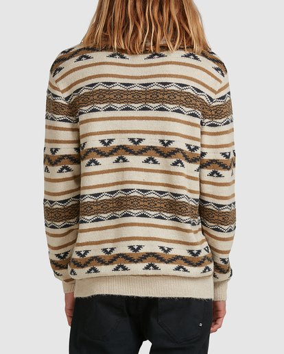 2 Alamo Sweater Crew Sweater Beige 9503611 Billabong