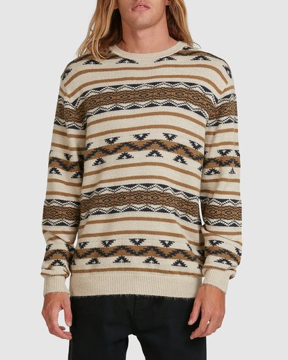 0 Alamo Sweater Crew Sweater Beige 9503611 Billabong