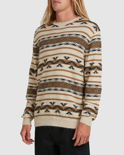 1 Alamo Sweater Crew Sweater Beige 9503611 Billabong